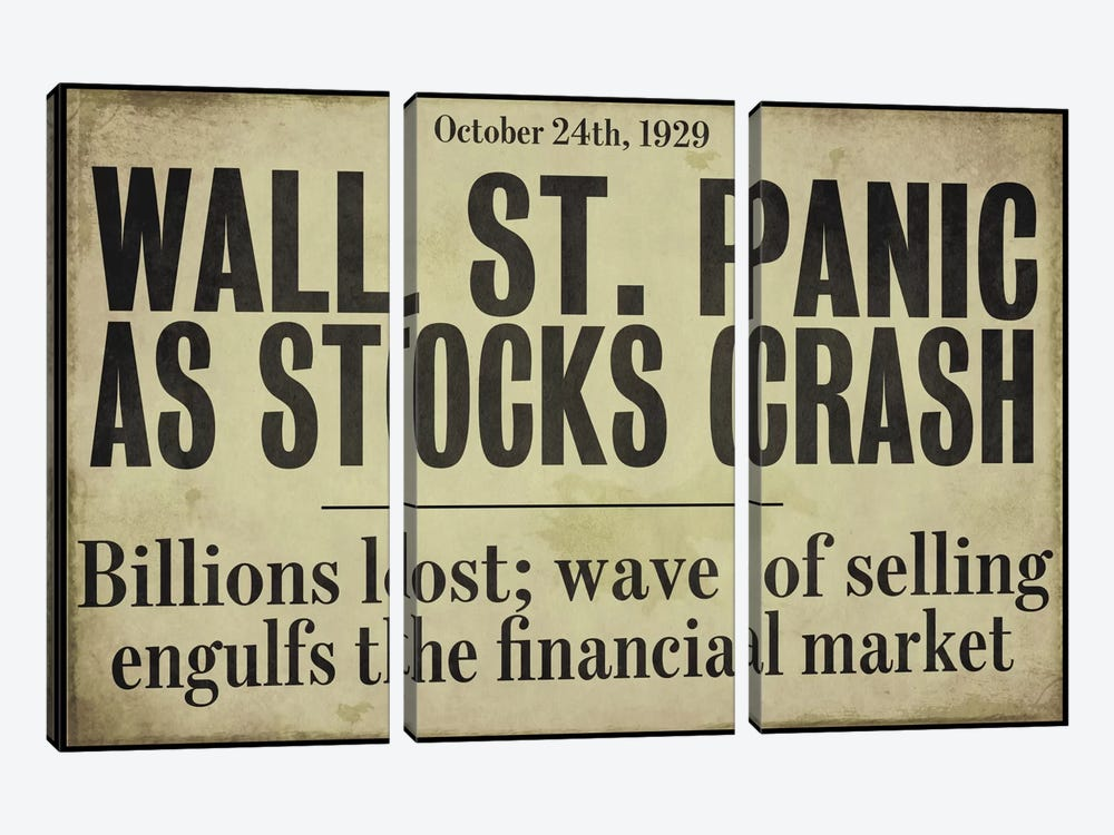 Wallstreet by Color Bakery 3-piece Canvas Wall Art