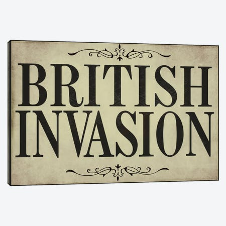 British Invasion Canvas Print #9678} by Color Bakery Canvas Art