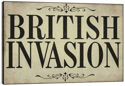 British Invasion Canvas Print #9678