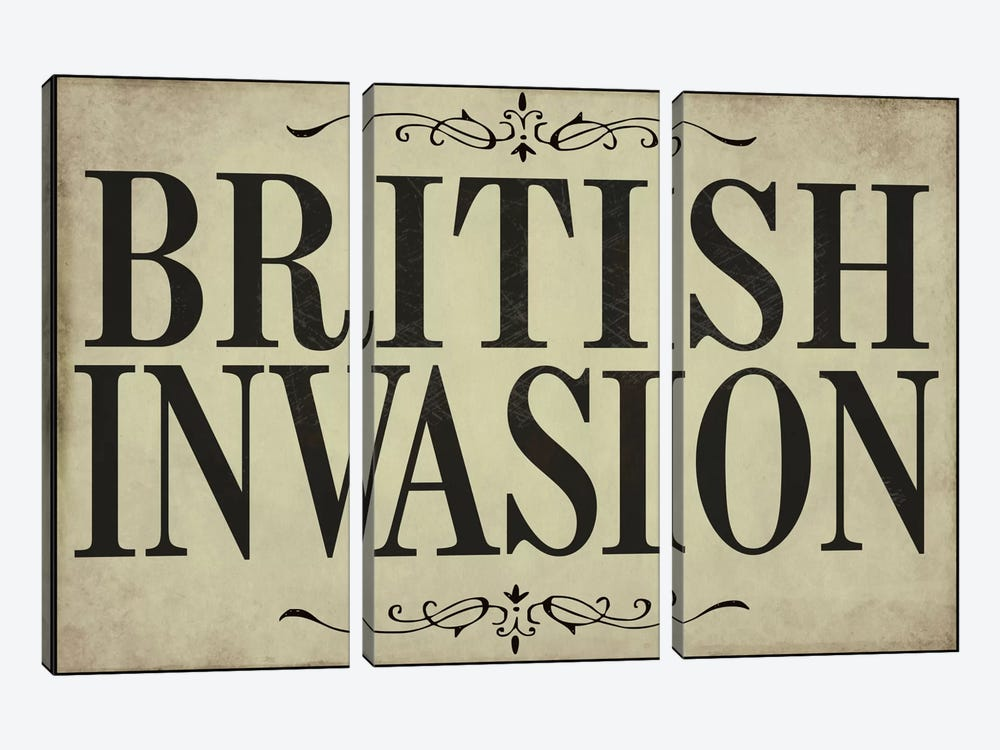 British Invasion by Color Bakery 3-piece Canvas Artwork