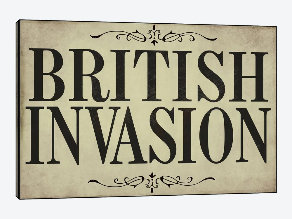 British Invasion by Color Bakery 1-piece Canvas Wall Art
