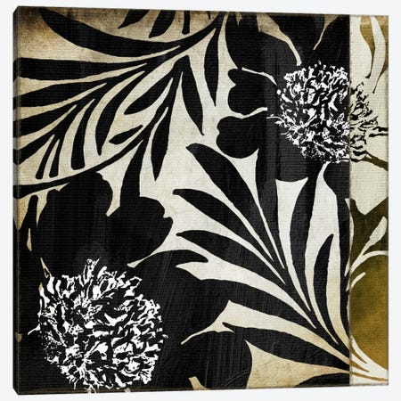Floral Jungle Lines I from Color Bakery collection Canvas Print #9683} by Color Bakery Canvas Print
