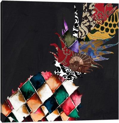 Pineapple Brocade II Canvas Print #9684