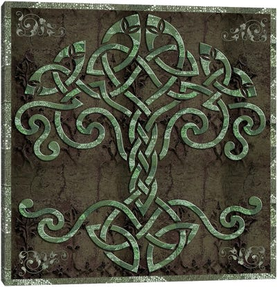 Celtic Tree Life Canvas Print #9703