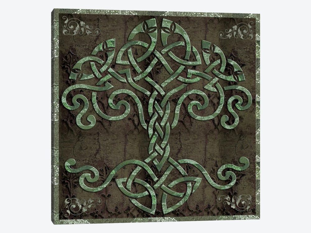 Celtic Tree Life 1-piece Canvas Print