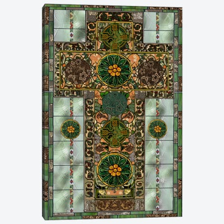 Celtic Cross Canvas Print #9705} by Mindy Sommers Canvas Art Print