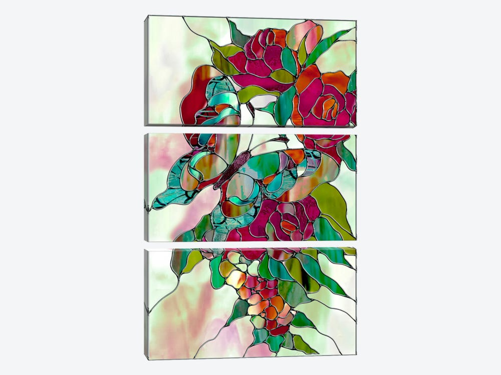 Changeling by Mindy Sommers 3-piece Canvas Wall Art