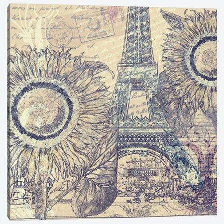 Paris Pastiche II Canvas Print #9707} by Mindy Sommers Canvas Print