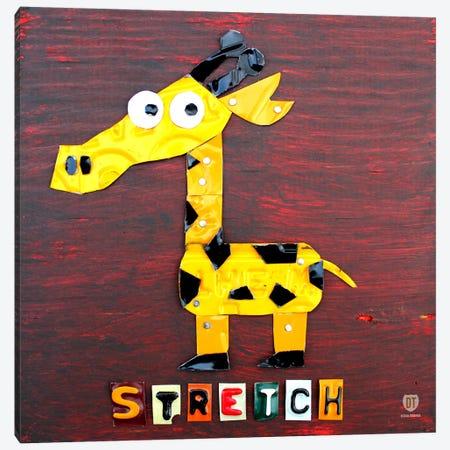 """Stretch"" The Giraffe Canvas Print #9709} by Design Turnpike Canvas Wall Art"