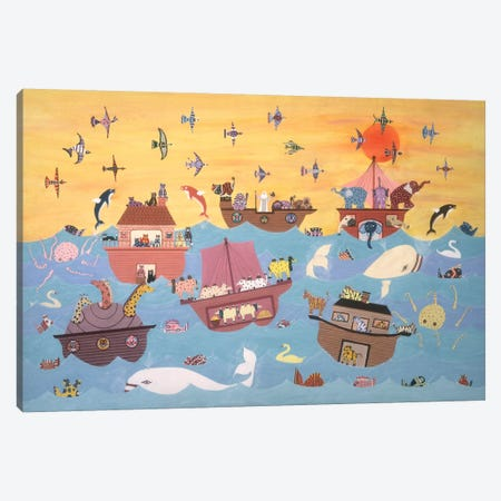 Noah's Ark I Canvas Print #9721} by David Sheskin Canvas Artwork