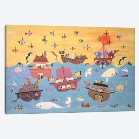Noah's Ark I Canvas Print #9721} by David Sheskin Canvas Artwork