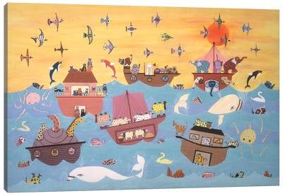 Noah's Ark I Canvas Art Print