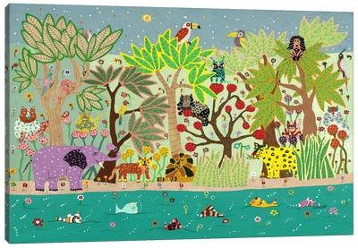 Jungle Beasts Canvas Art Print