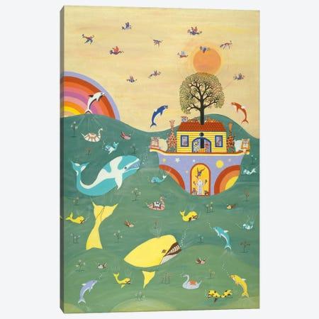 Noah's Ark I I Canvas Print #9723} by David Sheskin Canvas Wall Art