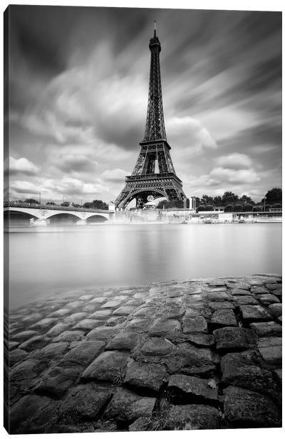 Eiffel Tower Study I Canvas Print #9749
