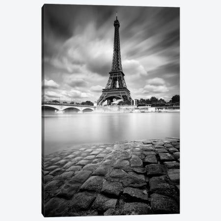 Eiffel Tower Study I Canvas Print #9749} by Moises Levy Canvas Artwork