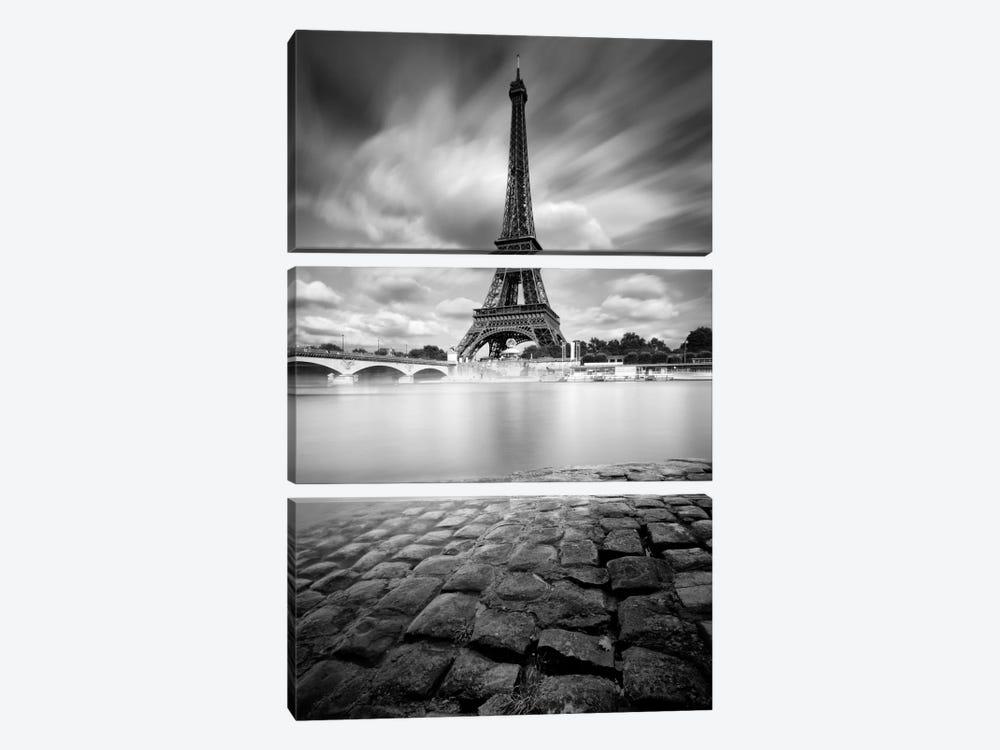 Eiffel Tower Study I by Moises Levy 3-piece Art Print