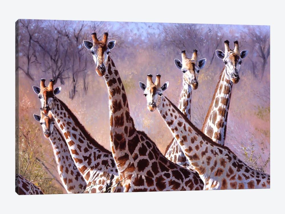 Giraffes by Pip McGarry 1-piece Canvas Print