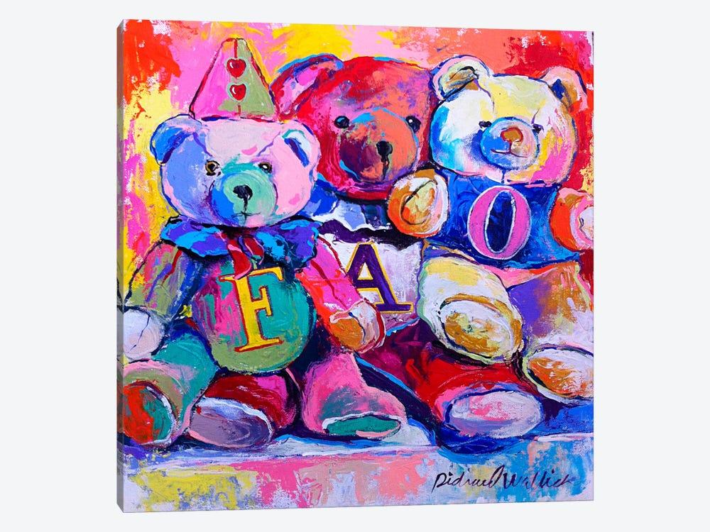 Bears by Richard Wallich 1-piece Canvas Wall Art