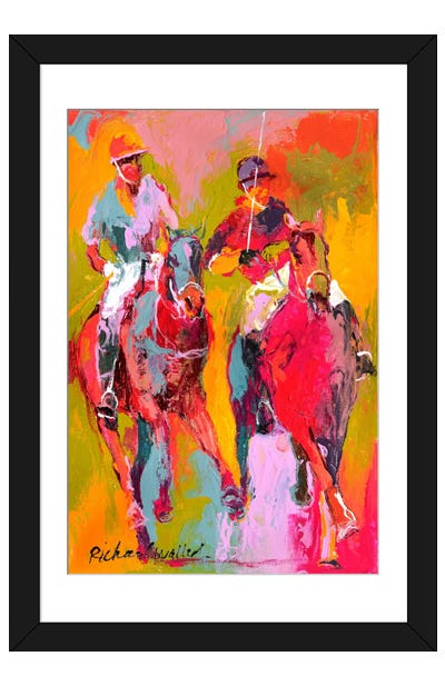 Polo II Framed Art Print