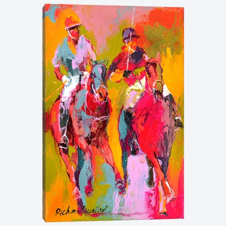 Polo II Canvas Print #9848} by Richard Wallich Canvas Print