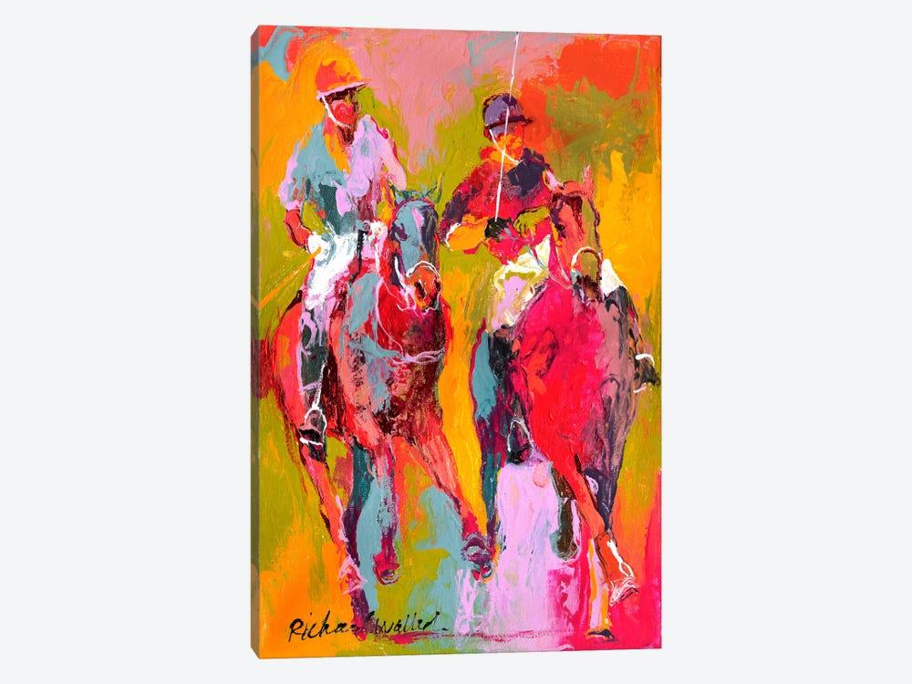 Polo II by Richard Wallich 1-piece Canvas Artwork
