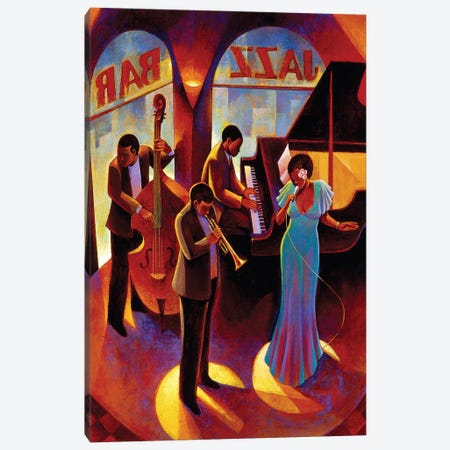 At The Top Canvas Print #9852} by Keith Mallett Canvas Art