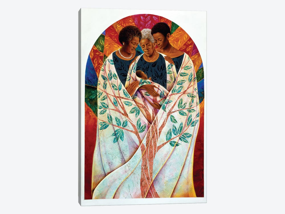 Family Tree by Keith Mallett 1-piece Canvas Art Print