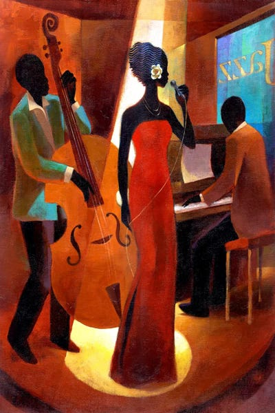 In A Sentimental Mood Canvas Print By Keith Mallett Icanvas