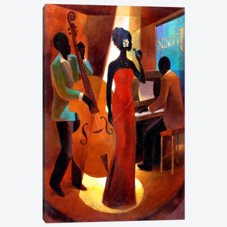In A Sentimental Mood Canvas Print #9872} by Keith Mallett Canvas Wall Art