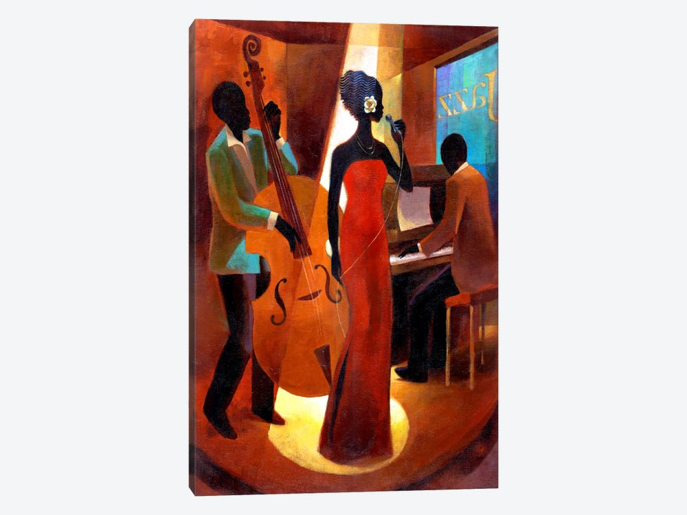 In A Sentimental Mood by Keith Mallett 1-piece Canvas Print