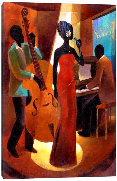 In A Sentimental Mood Canvas Art Print