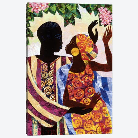 In The Garden Canvas Print #9876} by Keith Mallett Art Print
