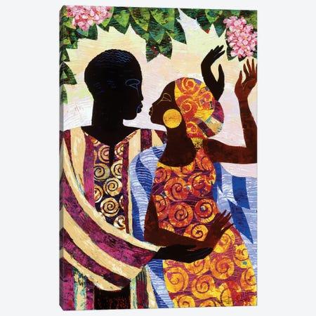 In The Garden Canvas Print #9876} by Keith Mallett Art Print