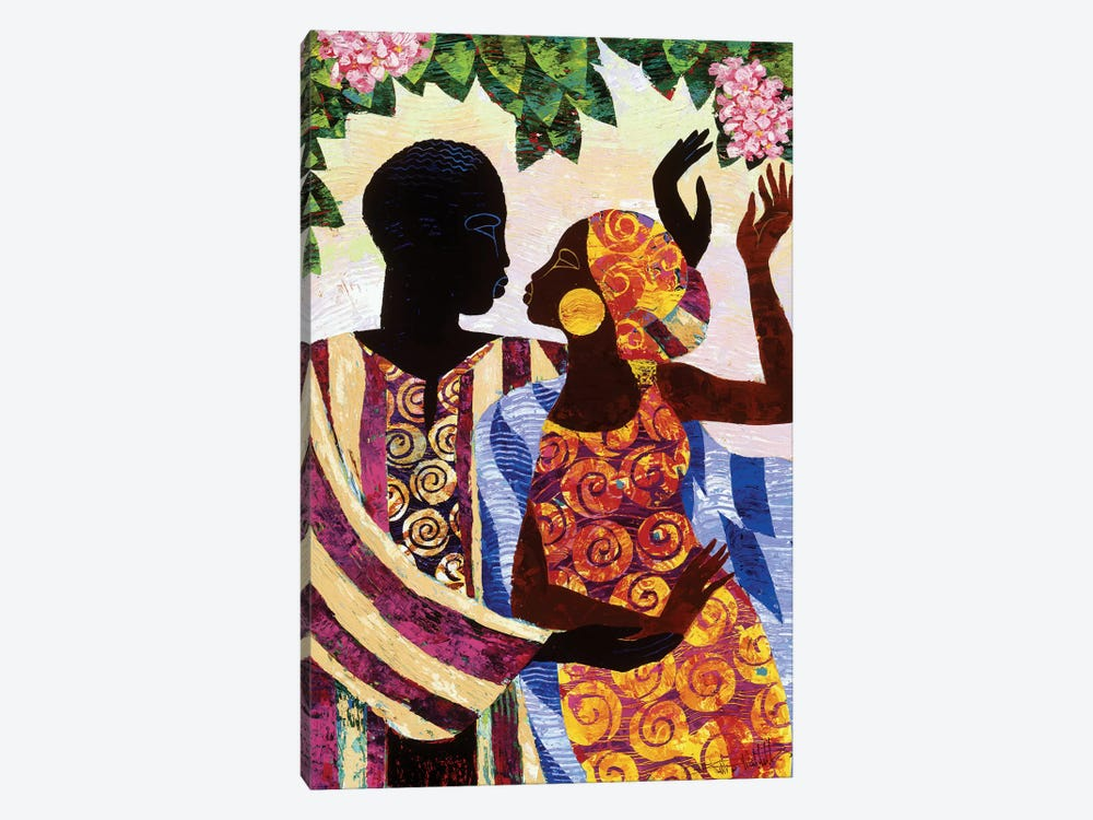 In The Garden by Keith Mallett 1-piece Art Print