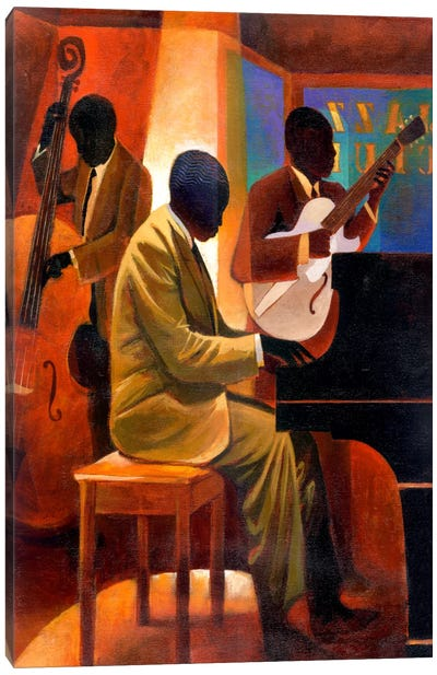 Piano Man Canvas Art Print