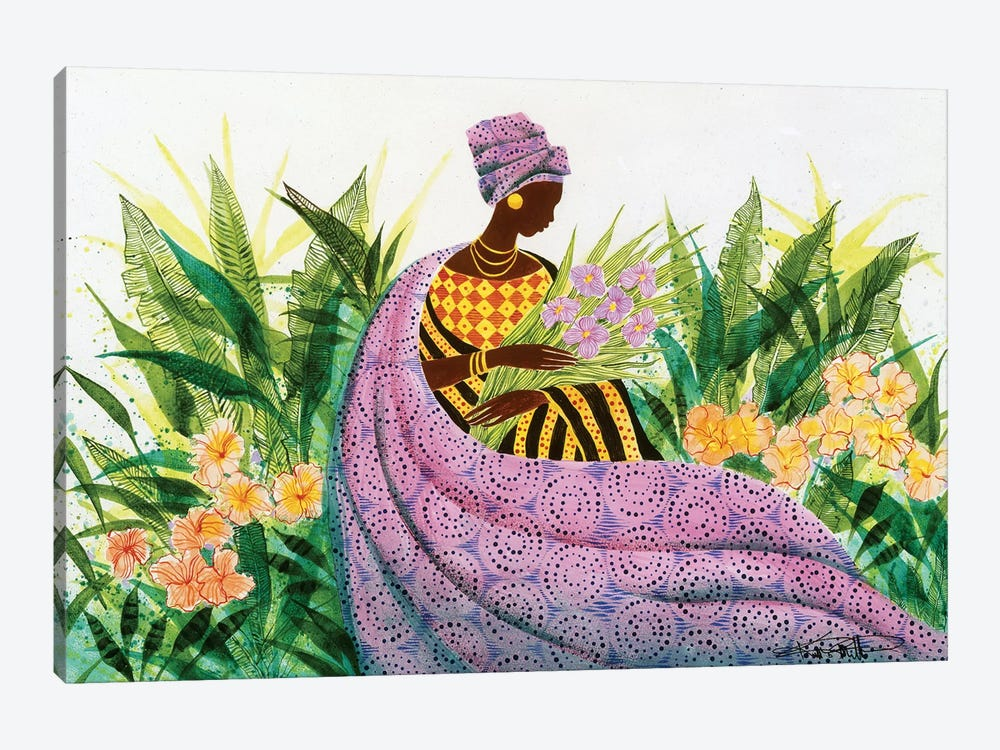 Reflection by Keith Mallett 1-piece Canvas Art