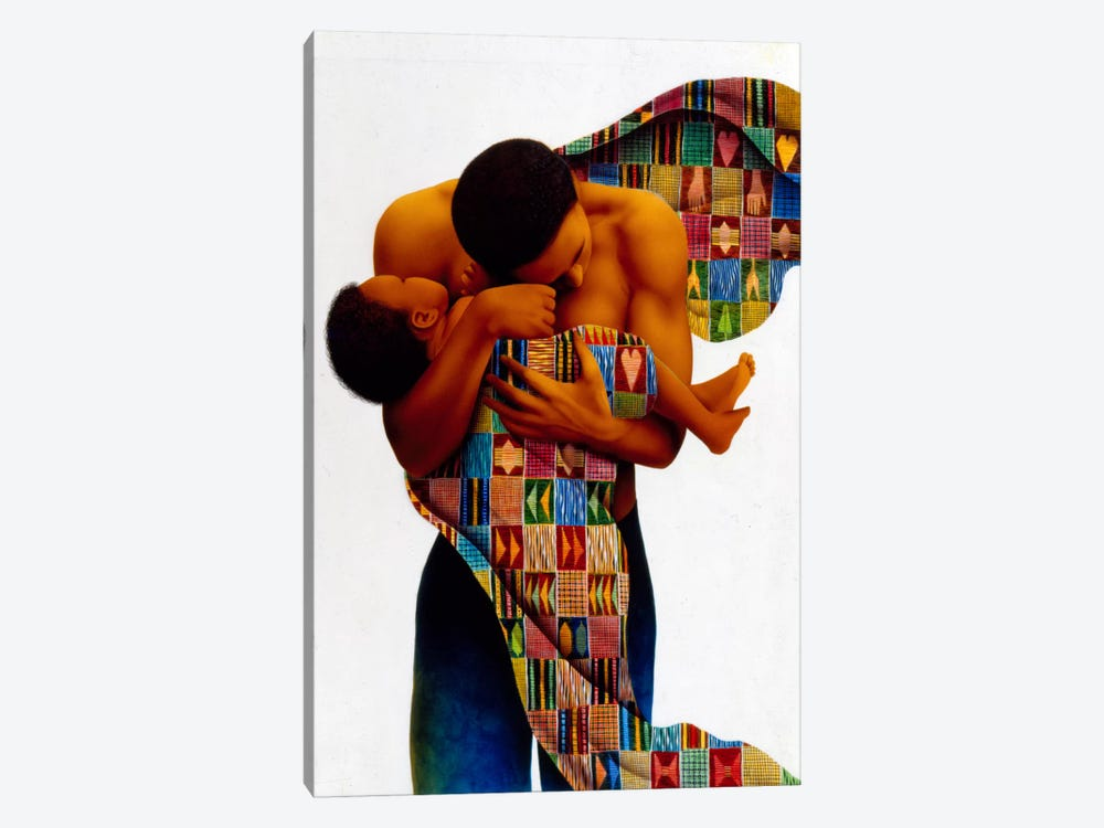 Sheltering Love by Keith Mallett 1-piece Art Print