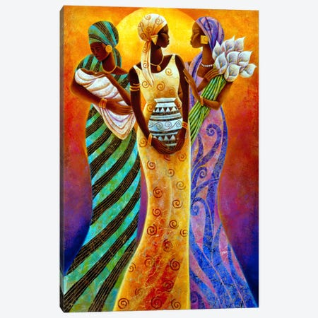 Sisters of The Sun Canvas Print #9892} by Keith Mallett Canvas Wall Art