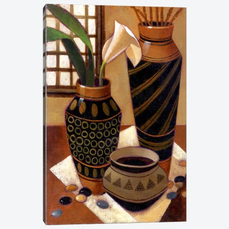 Still Life With African Bowl Canvas Print #9894} by Keith Mallett Art Print