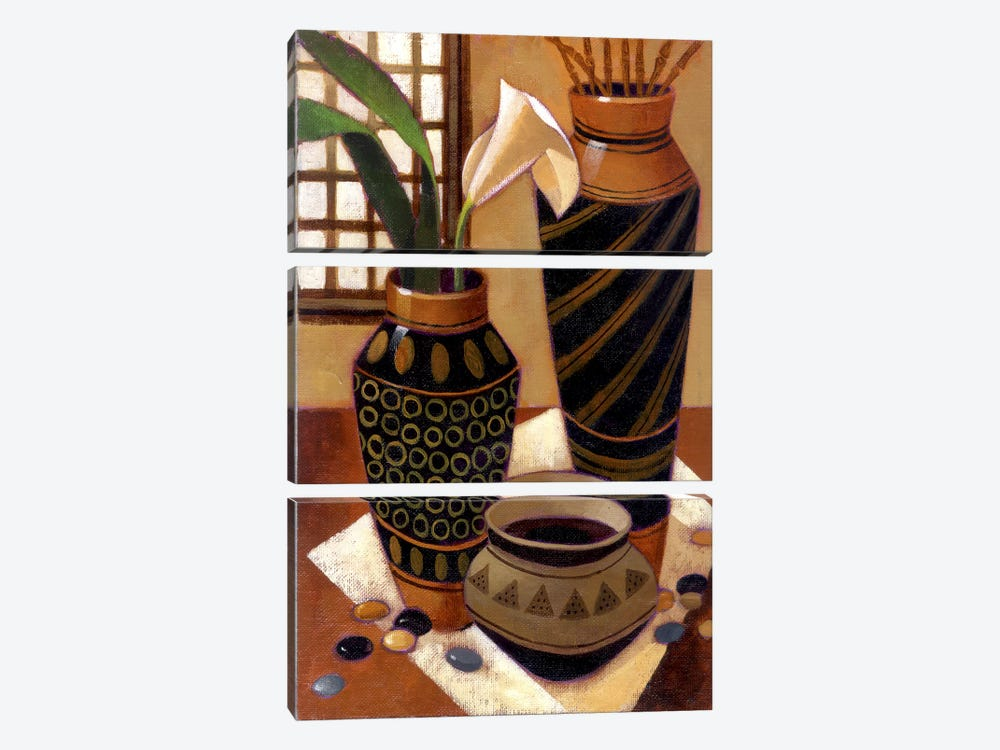 Still Life With African Bowl by Keith Mallett 3-piece Art Print