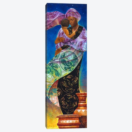 UsikuNight Canvas Print #9906} by Keith Mallett Art Print