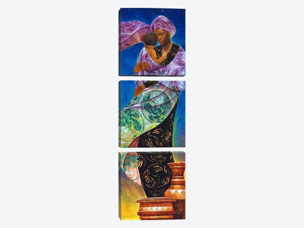UsikuNight by Keith Mallett 3-piece Art Print