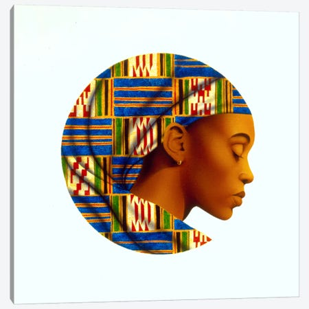 Uzuri Canvas Print #9907} by Keith Mallett Art Print