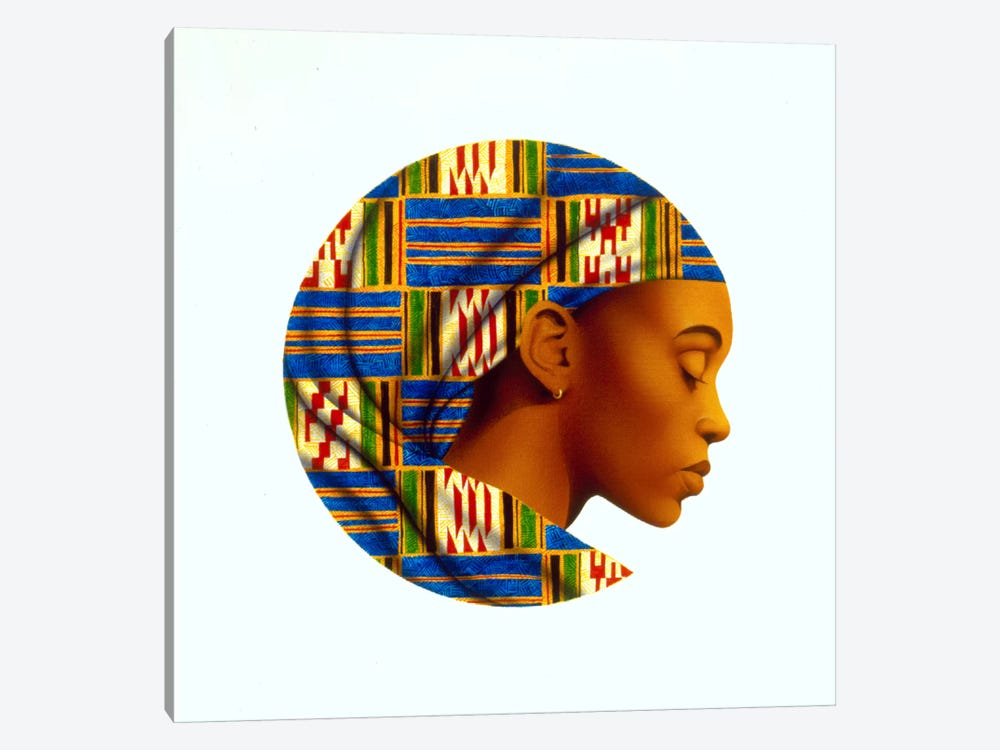 Uzuri by Keith Mallett 1-piece Canvas Wall Art