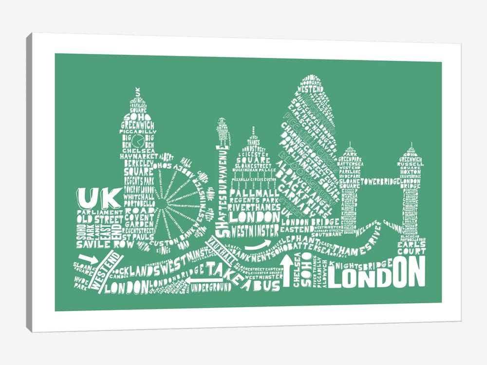 London, Rosemary by Citography 1-piece Canvas Artwork