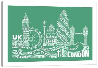 London, Rosemary Canvas Art Print