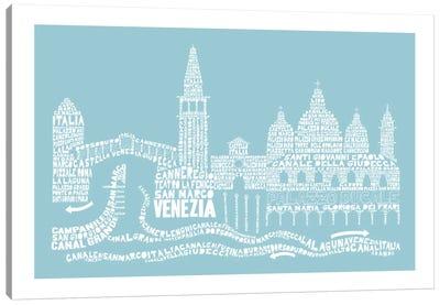 Venice, Aqua Canvas Print #AAA84