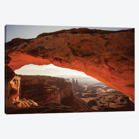 Mesa Arch - Canyonlands National Park - Utah Canvas Print #AAB77} by Annabelle Chabert Canvas Wall Art