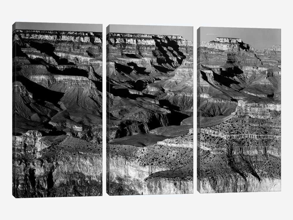 Grand Canyon National Park XVI by Ansel Adams 3-piece Canvas Artwork